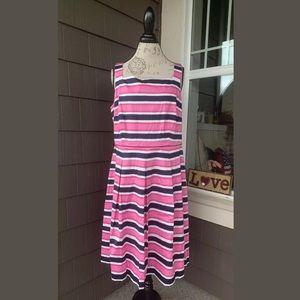 *NWT* LONDON TIMES Sleeveless Sheath Dress Size 14